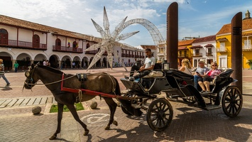 410-2718 Cartagena - Horse Carriage Tour
