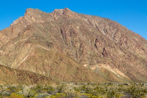 411-0573 Anza Borrego - Mountain