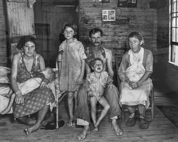 409-2780 VMA - Walker Evans, Sharecropper's Family, Hale County, Alabama, 1936