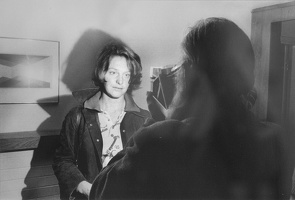 409-2800 VMA - Jerry Thompson, Walker Evans Photographing Susan Thornton, Bethany, Conecticut, 1973