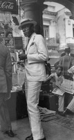 409-2816 VMA - Walker Evans, Citizen in Downtown Havana, 1933