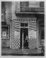 409-2821 VMA - Walker Evans, Sidewalk and Shopfromt, New Orleans, 1935