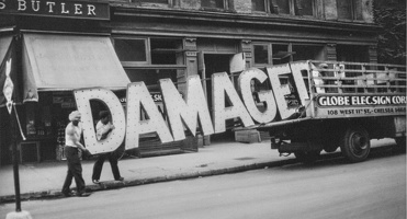 409-2828 VMA - Walker Evans, Truck and Sign, 1930