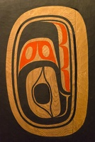 409-3113 BRG James Hart (Haida), Celebration of Bill Reid Pole, 2007-2009 (detail)