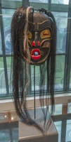 409-3207 BRG Tom Eneas (Squamish), Dzonokwa Mask, 1995