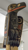 409-3268 BRG James Hart (Haida), Celebration of Bill Reid Pole, 2007-2009 (detail)