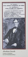 313-9222 Nauvoo IL Abram Lincoln Elector for William Henry Harrison