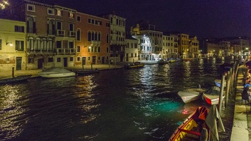 408-6003 IT - Venezia - Canale di Cannaregio at Night