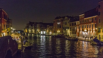 408-6009 IT - Venezia - Canale di Cannaregio at Night