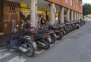 408-7639 IT- Bologna - Via Augusto Righi - Motorcycles