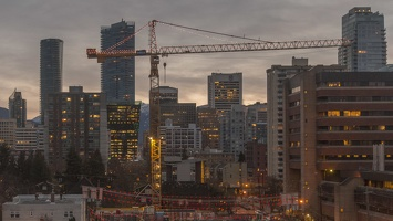 409-3911 Vancouver Skyline at Dawn